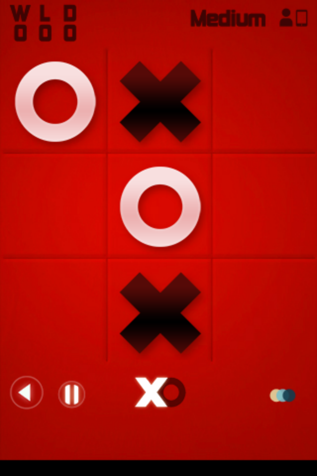 Screenshot Tic Tac Toe Classic